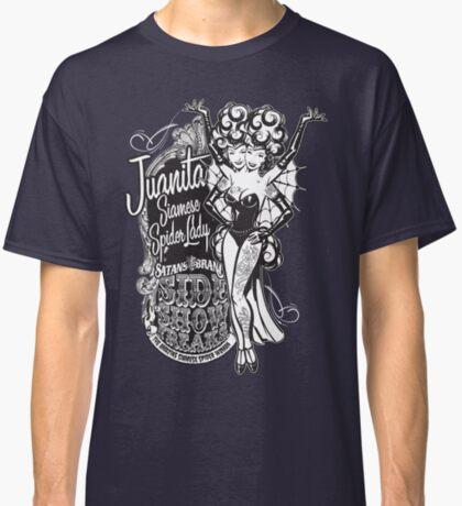 Side Show Freaks - Juanita Siamese Spider Lady Classic T-Shirt