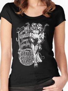 Side Show Freaks - Juanita Siamese Spider Lady Women's Fitted Scoop T-Shirt