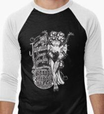 Side Show Freaks - Juanita Siamese Spider Lady Men's Baseball ¾ T-Shirt