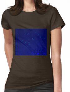 Aura of Ocean Birds Womens Fitted T-Shirt