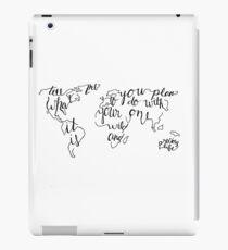 Wild & Precious World iPad Case/Skin