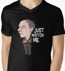 Pierre Trudeau, Just Watch Me Men's V-Neck T-Shirt