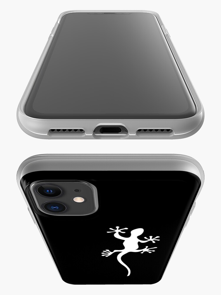 Alternate view of One white gecko Tee iPhone Case & Cover