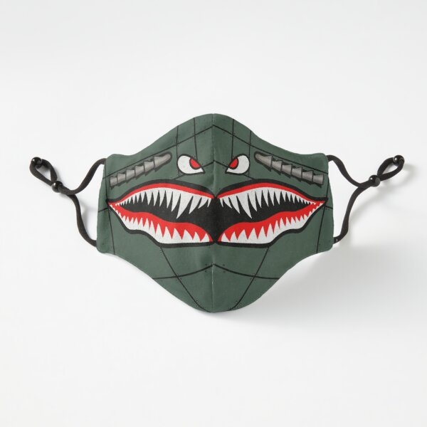 Curtiss P-40 Tiger Shark (Cartoon Version) Fitted 3-Layer