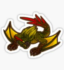 Green Nargacuga Sticker