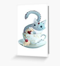Alice in Wonderland - Cheshire Cat Greeting Card