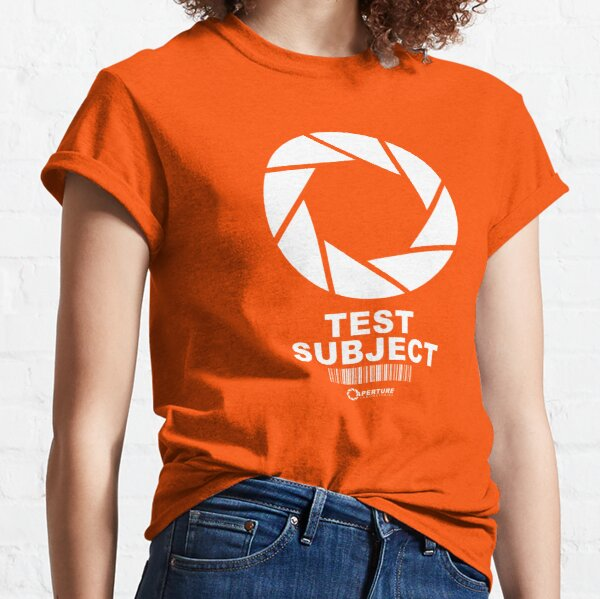 Test Subject Aperture Labs Classic T-Shirt