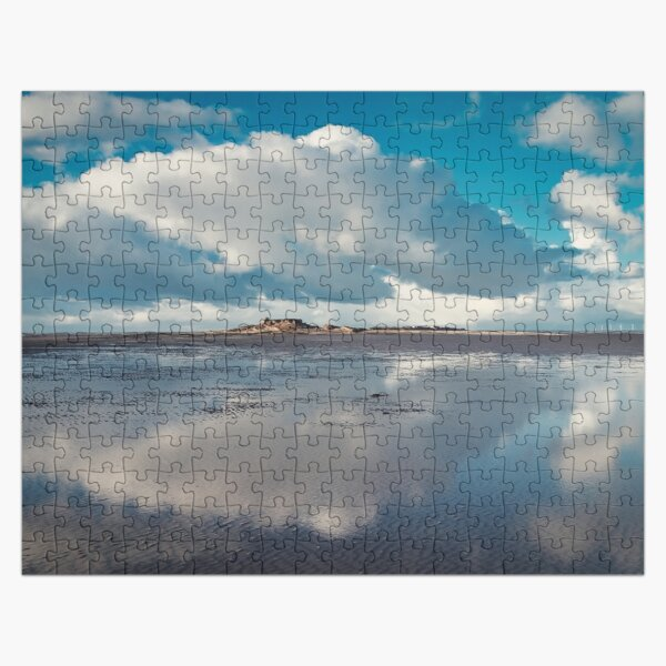 Reflections of Hilbre Island Jigsaw Puzzle