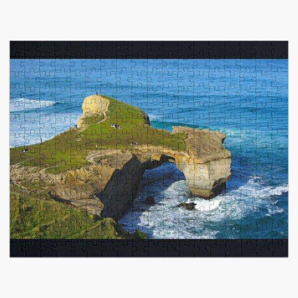 Tunnel Beach, Otago, New Zealand Jigsaw Puzzle
