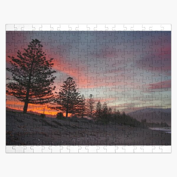 Kaikoura Beach Sunset Jigsaw Puzzle