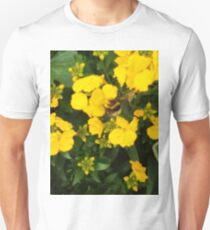 Bumble Bee In Yellow Flowers T-Shirt