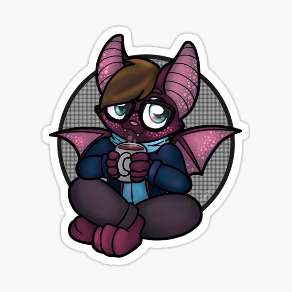 Hipster Bat Sticker