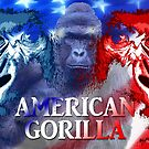 American Gorilla by EyeMagined