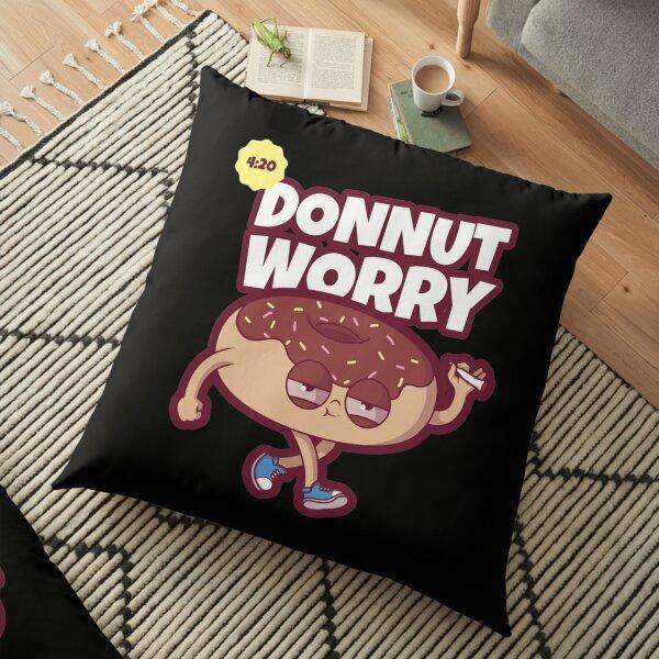 Donnut Worry Floor Pillow