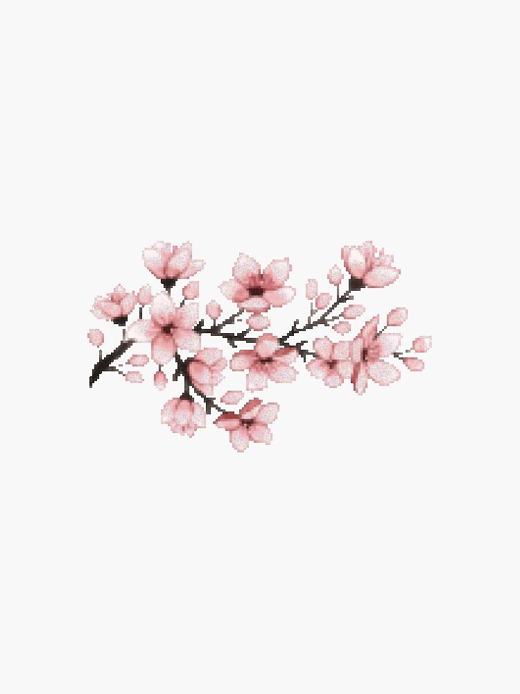 Pixel Flowers de samartxo