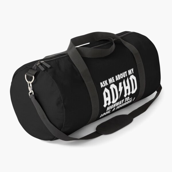 ADHD is Awesome - Cute ADHD is Awesome Version 6 Duffle Bag