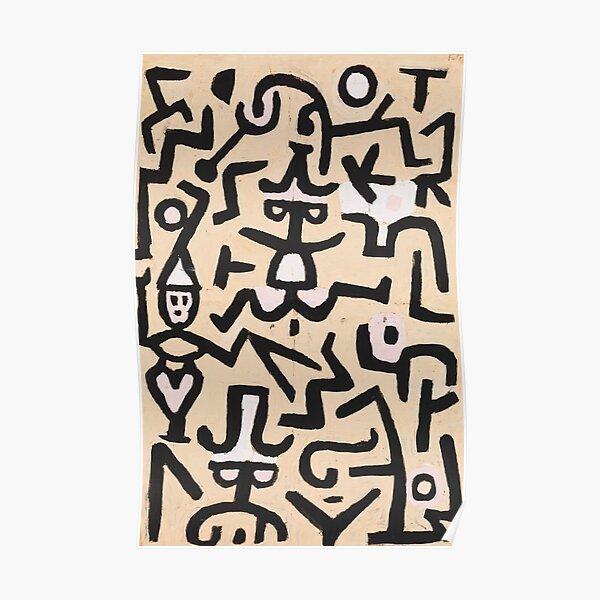 Comedians & amp; # 39; Flugblatt, Paul Klee Poster