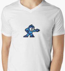 Megaman Men's V-Neck T-Shirt
