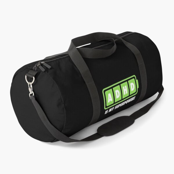 ADHD is Awesome - Cute ADHD is Awesome Version 8 Duffle Bag