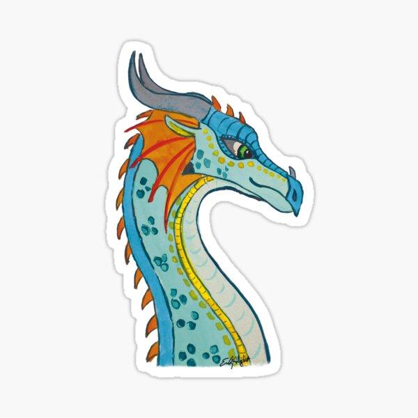 Dragon - Glory in watercolor Sticker