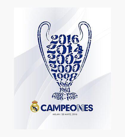 Real Madrid  Photographic Print