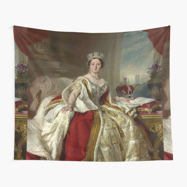 Queen Victoria , Winterhalter 1859 Tapestry