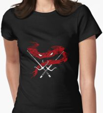 Red Wrath Women's Fitted T-Shirt