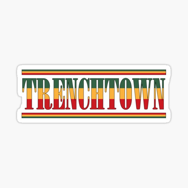 Trenchtown Reggae Sticker