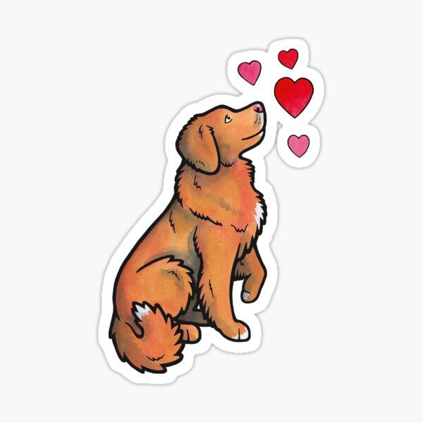 Toller love Sticker