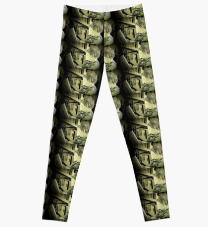 Reading Power-Food for the Mind Leggings