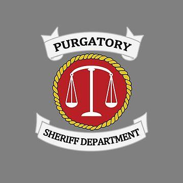 Wynonna Earp - Purgatory Sheriff Department Logo by allmyinhibition