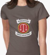 Wynonna Earp - Purgatory Sheriff Department Logo Women's Fitted T-Shirt