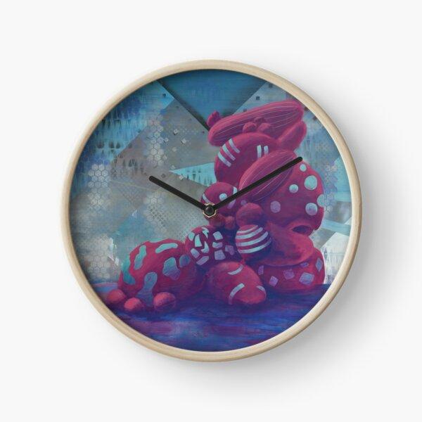 Growth Spots Clock