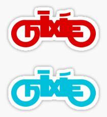 Fixie  Sticker