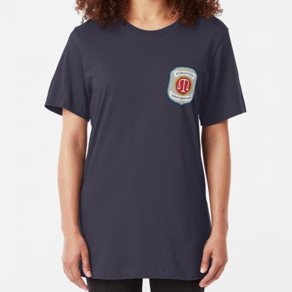 Wynonna Earp - Purgatory Sheriff Department Patch Slim Fit T-Shirt