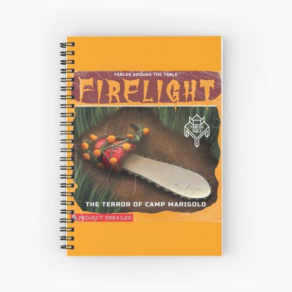 Firelight - Terror at Camp Marigold Spiral Notebook