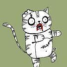 Zombie Cat by jrock1184
