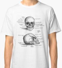 Anatomy of a Human Skull Classic T-Shirt