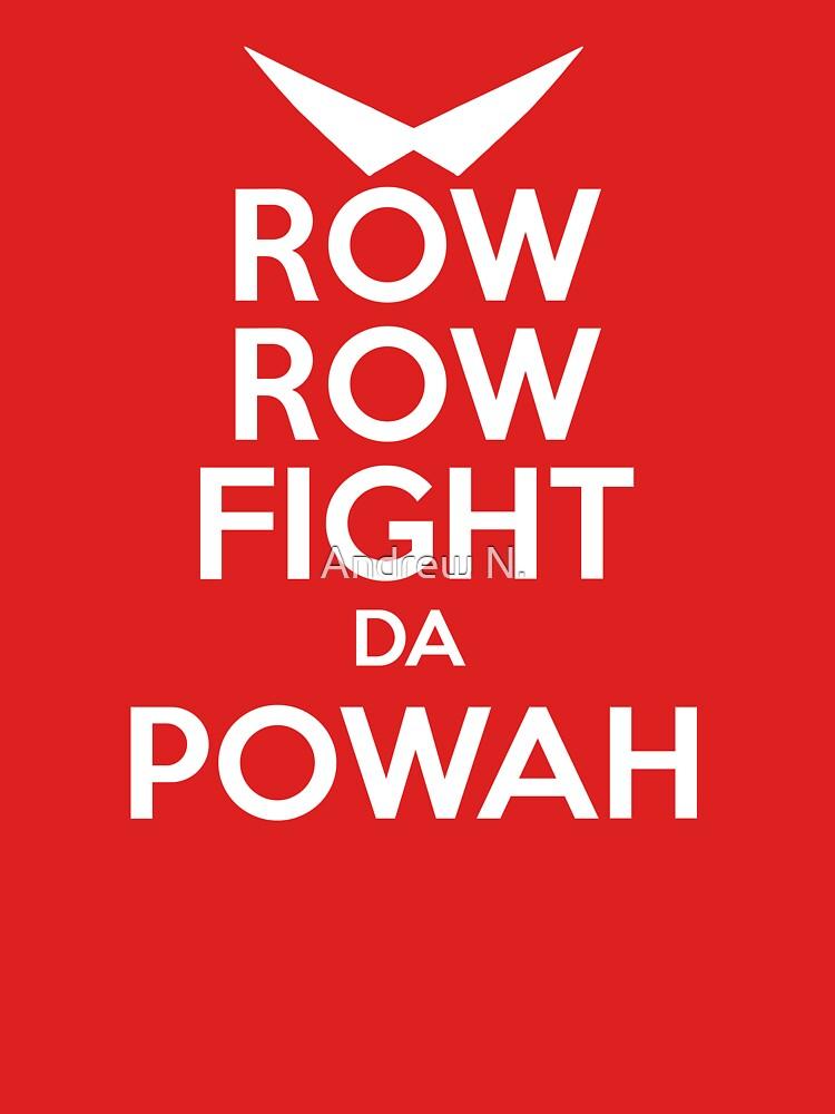 ROW ROW, FIGHT DA POWAH! | Unisex T-Shirt
