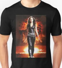 Sommer Glau - BADASS FRAUEN Slim Fit T-Shirt