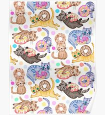 Sprinkles on Donuts and Whiskers on Kittens Poster