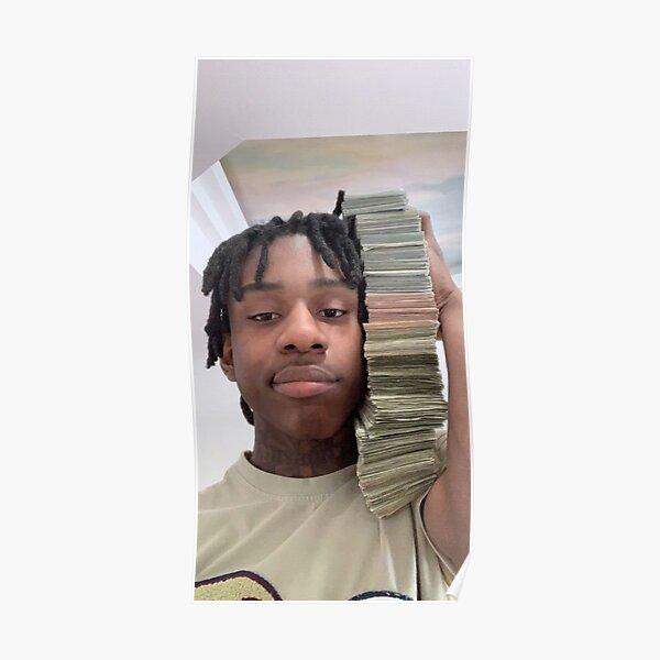 Polo G con dinero Póster