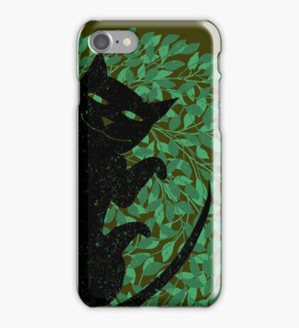 Summer cat iPhone Case/Skin