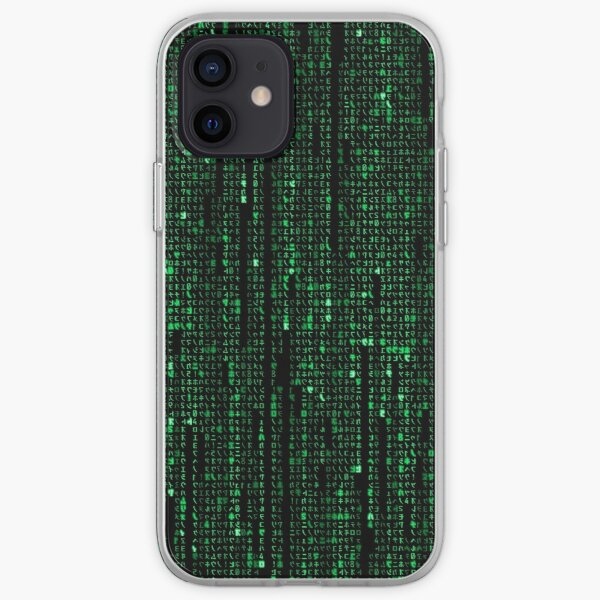 El código de la matriz Funda blanda para iPhone