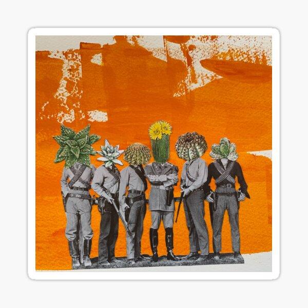 Succulent Cowboys Sticker
