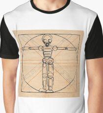 Vitruvian robot Graphic T-Shirt