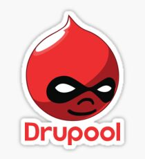 Drupool Sticker