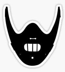 Hello, Clarice. - (Silhouette) Sticker