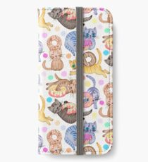 Sprinkles on Donuts and Whiskers on Kittens iPhone Wallet/Case/Skin