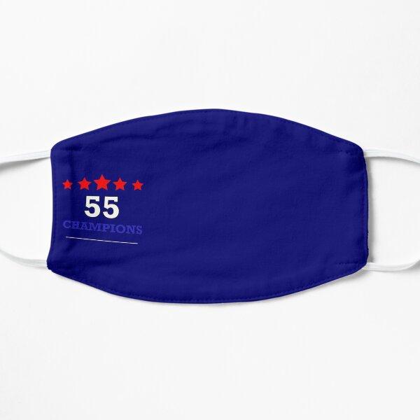 Rangers 55 T Shirt Champions 2021 Blue Flat Mask